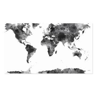 WORLD MAP BG3 - BUSINESS CARD