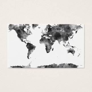 WORLD MAP BG3 - BUSINESS CARD