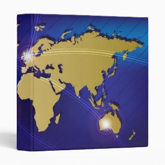 World Map Binder