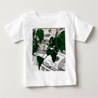 World map cash baby T-Shirt