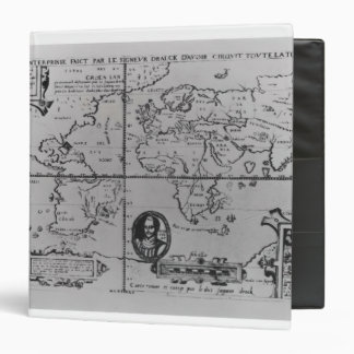 World Map detailing the Expeditions Binder