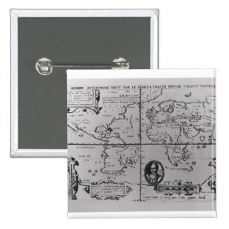 World Map detailing the Expeditions Buttons