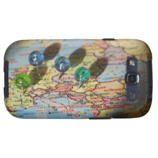 World Map, Europe Samsung Galaxy S3 Covers
