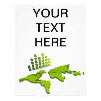 World Map Flyer