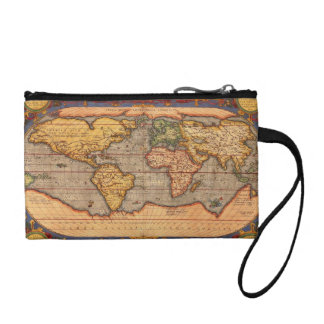 World Map from 1601 Change Purse