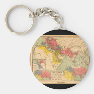 World Map from Antiquity 1_Maps of Antiquity Keychain