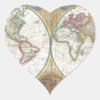 World Map Gifts Sticker