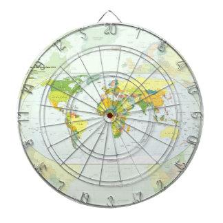 World Map Globe Atlas Countries Dart Boards