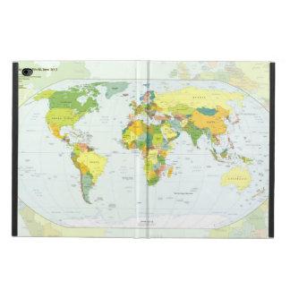 World Map Globe Atlas Countries Powis iPad Air 2 Case