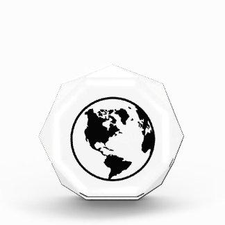 World map globe awards