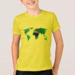 world map graduation tee t-shirt design hip