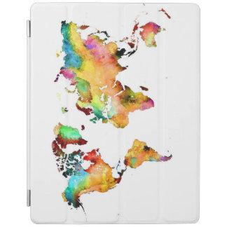 world map iPad smart cover