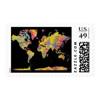 WORLD MAP MC 2 - POSTAGE