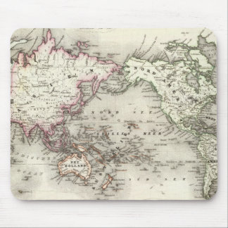 World Map Mouse Pads