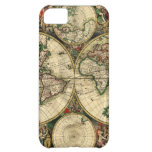 World Map of 1689 Gifts iPhone 5C Covers