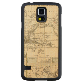 World Map of Diseases Carved Maple Galaxy S5 Case