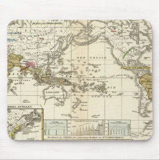 World Map of Diseases Mouse Pad