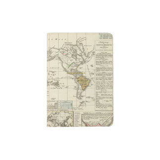 World Map of Diseases Passport Holder