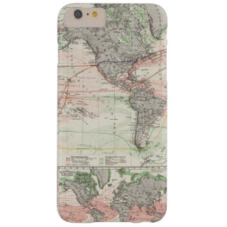 World Map of Ocean Currents Barely There iPhone 6 Plus Case