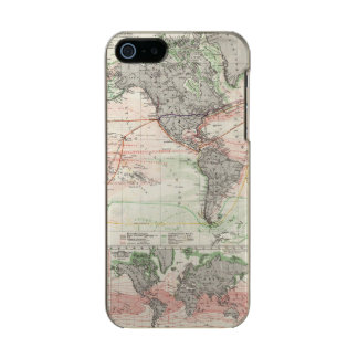 World Map of Ocean Currents Incipio Feather® Shine iPhone 5 Case
