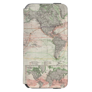 World Map of Ocean Currents Incipio Watson™ iPhone 6 Wallet Case