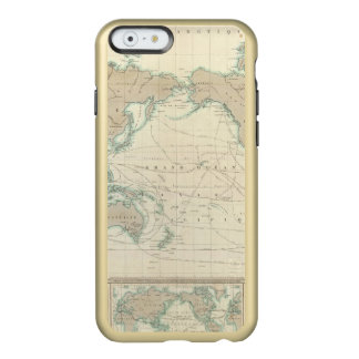 World Map of the Shipping Canals Incipio Feather® Shine iPhone 6 Case