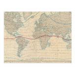 World Map of the Vegetation Postcard