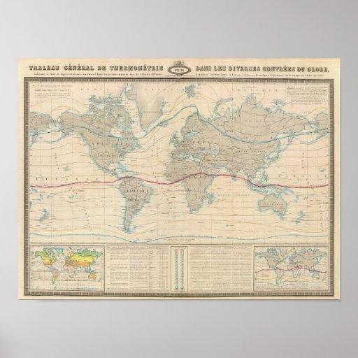 World Map of the Vegetation Poster