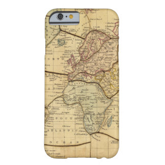World map on Mercators Projection Barely There iPhone 6 Case