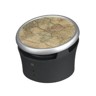 World map on Mercators Projection Bluetooth Speaker