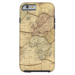 World map on Mercators Projection Tough iPhone 6 Case