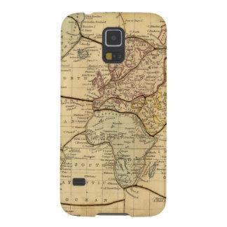 World map on Mercators Projection Galaxy S5 Case