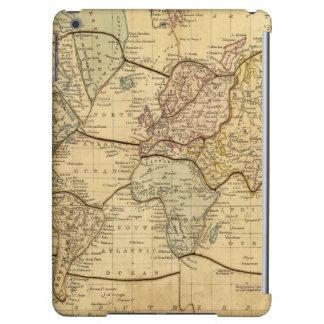 World map on Mercators Projection iPad Air Case