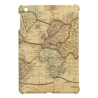 World map on Mercators Projection iPad Mini Covers