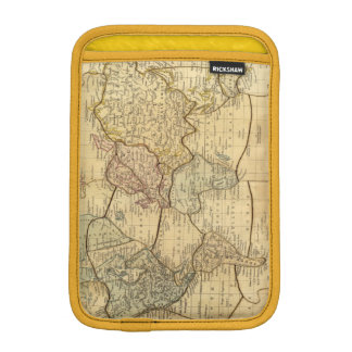 World map on Mercators Projection iPad Mini Sleeves