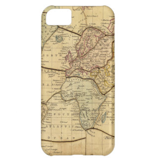 World map on Mercators Projection iPhone 5C Case