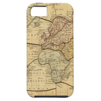 World map on Mercators Projection iPhone SE/5/5s Case