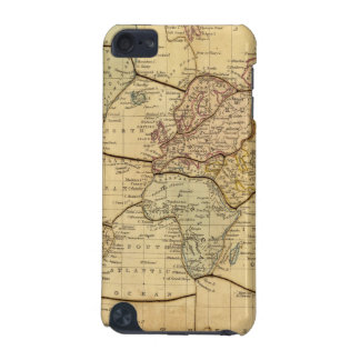 World map on Mercators Projection iPod Touch (5th Generation) Cover