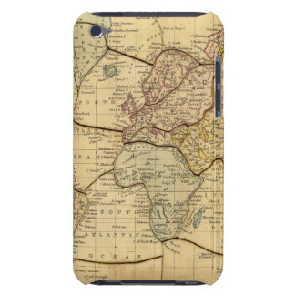 World map on Mercators Projection iPod Touch Cover