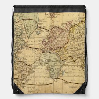 World map on Mercators Projection Cinch Bag