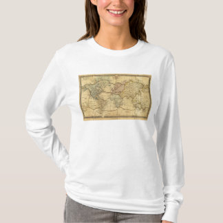 World map on Mercators Projection T-Shirt