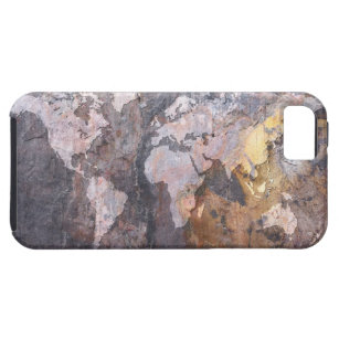 World map background iphone cases covers zazzle world map on stone background iphone se55s case gumiabroncs Images
