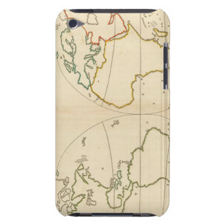 World Map Outline Barely There iPod Cases