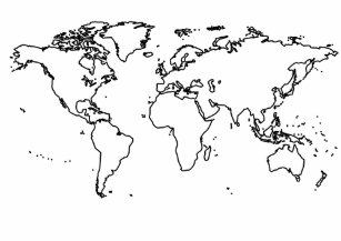 Globe temporary tattoos zazzle world map outline temporary tattoos gumiabroncs Image collections