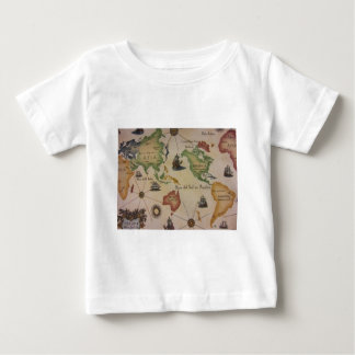 World Map Pacific Infant T-shirt