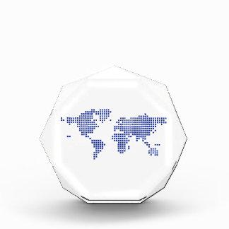 World map pixel award