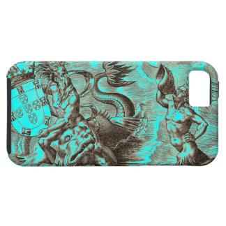 World Map Poseidon iPhone SE/5/5s Case