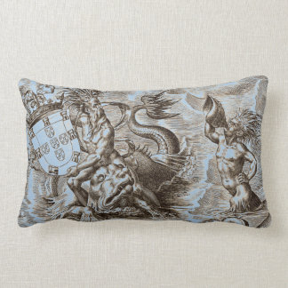 World Map Poseidon Pillow