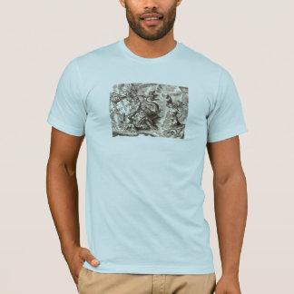 World Map Poseidon T-Shirt