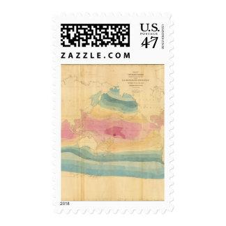 World Map Postage Stamp